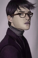 Man with glasses by Emily369