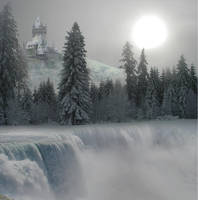 Castle of Ice by ElindielForestStar