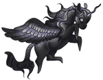 Vesper Chibi {comm} by DestrierDesigns