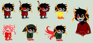 Nexxis Sprites for NinjaKitteh17 by SavannaEGoth