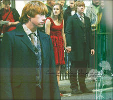 Rupert Grint y Emma Watson by imrei