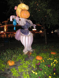 Halloween Scarecrow WDW 1 by WDWParksGal-Stock