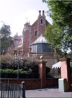 Haunted Mansion Side View by WDWParksGal-Stock