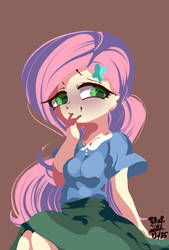 Fluttershy 12 25 2018 by tohupo