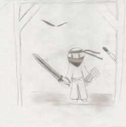 Warrior in the Dark by Nitlaftehpwner
