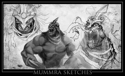 MuMmRa new N old by joverine