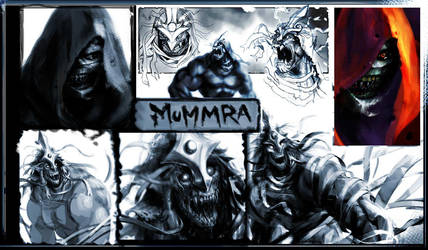MuMmRa page o sketches by joverine
