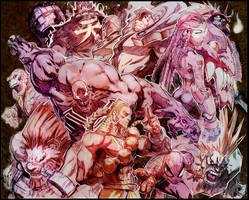 Marvel N Capcom by joverine