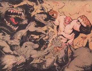 Werewolves attack by joverine