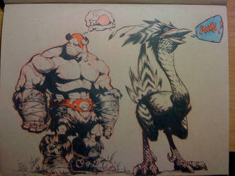 Balto grumpy, he hungry by joverine