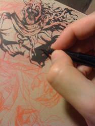 Coloring MummRa on jogeetv by joverine