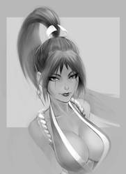 JoGeeTV commission of Mai by joverine