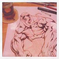 Venom ink wip by joverine