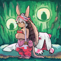 nanachi - made in abyss by ohimemineko