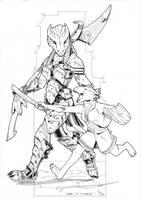 Rawr, I'm a warrior. by lgliang