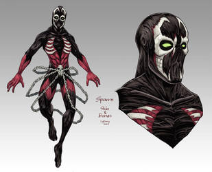 Spawn: Skin and Bones by lgliang