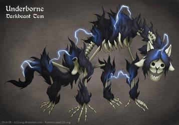 Underborne: Darkbeast Tem by lgliang