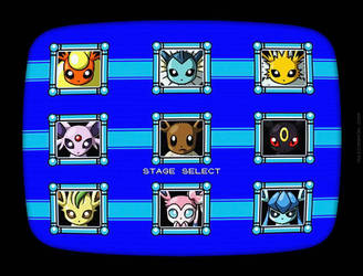 Eevee Stage Select by maiconmcn