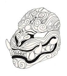 Day 18-Mask by wylde