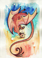 Sunrise Dragon by starwoodarts