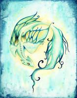 Water Dragon by starwoodarts