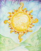 Sun Rise Mandala by starwoodarts