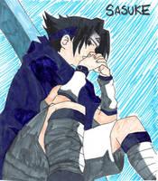 Sasuke by DarkWarrior-Kimi