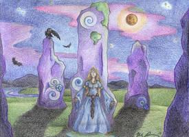 Moonlight Stillness by Spiralpathdesigns