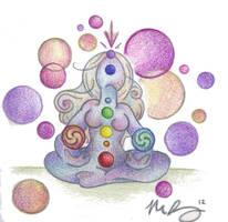 Divine Connection by Spiralpathdesigns