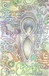 Earth Goddess Collage by Spiralpathdesigns