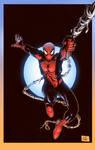 Spiderman by Ryan Stegman colors by Memo Regalado by V3dd3rMan