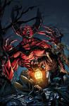 Advent comics cover colors by Memo Regalado by V3dd3rMan