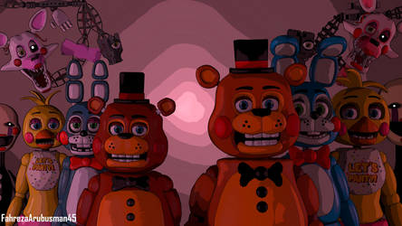 [FNAF - SFM] The Old and The New by FahrezaArubusman45