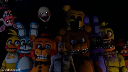 [FNAF - SFM] Five Nights at Freddy's 2 by FahrezaArubusman45