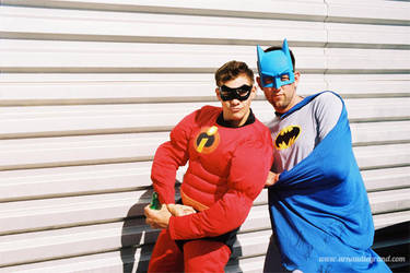 Batman and Robin by arnaudlegrand