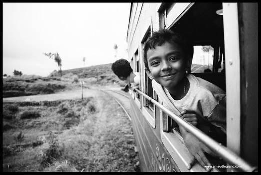 Train in Sri Lanka 3 by arnaudlegrand