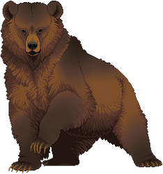 Pixel Bear by FennecFoxAim
