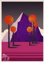 The Purple Mountain. by CupboardDweller