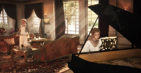 A Musical Interlude - The Harringtons - DSR 03 by Kibosh-1