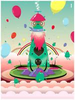 Bobo's Monster Bash-a blast by weirdink