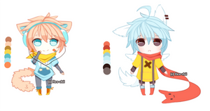 Kemonomimi Adopts   CLOSED by Reo-chii