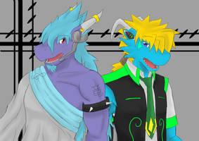 UTAU Magnet  Ryuu and Exeo by X-Z-0