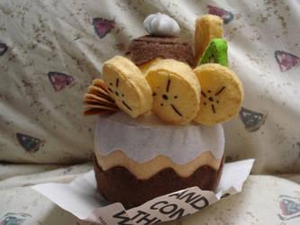 cake felt by BlancPaige