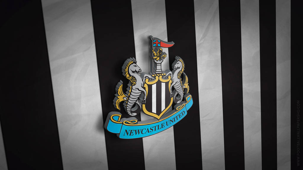 Newcastle United 3D Logo Wallpaper By FBWallpapersHD On