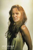 The Walking Dead: Lori: Sketch Re-Edit by nerdboy69