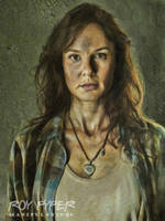 The Walking Dead: Lori: Oil Paint Re-Edit by nerdboy69