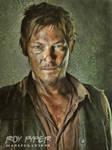 The Walking Dead: Daryl: Oil Paint Re-Edit by nerdboy69
