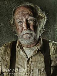 The Walking Dead: Hershel: HDR Re-Edit by nerdboy69
