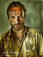 The Walking Dead: Rick: Fractalius Re-Edit by nerdboy69