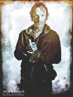 TWD: Rick Grimes: HDR Grunge Edit by nerdboy69